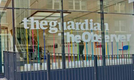 Guardian offices at Kings Place