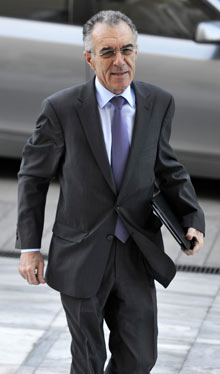 greek Finance minister, Vassilis Rapanos 