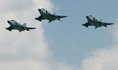 Syria shoots down Turkish warplane: al-Manar TV