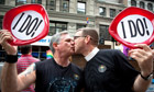 New York pride weekend celebrates 'a historic year' for gay rights