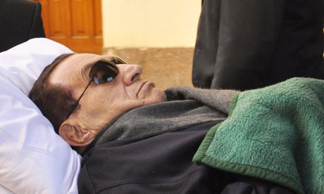 Hosni Mubarak, pictured here in January, 'will be remembered as the most bland of those military men turned dictators.'