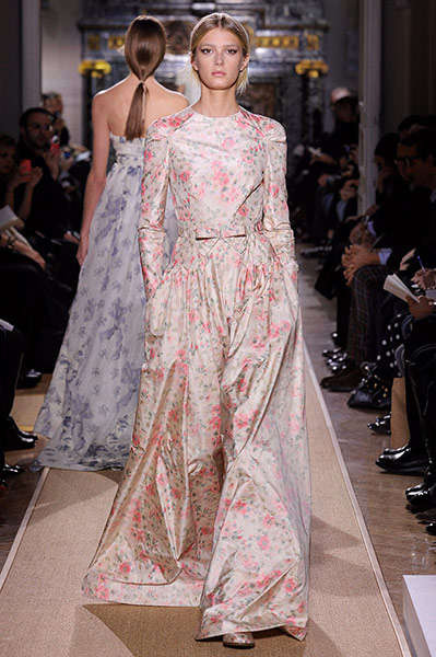 Key fashion trends of the season english rose fashion for Haute couture in english