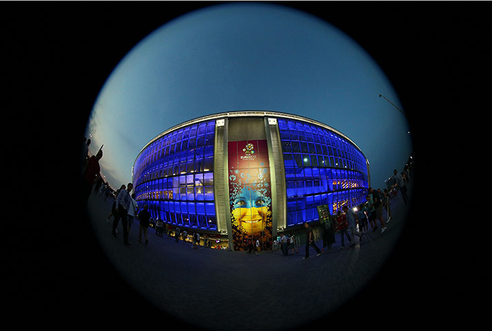 Spain v France: Donbass Arena