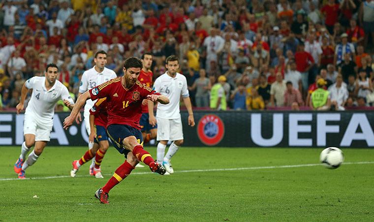 Spain v France 2: Xabi Alonsol