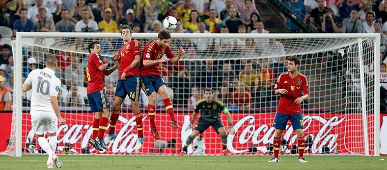 Spain v France 3: Karim Benzema