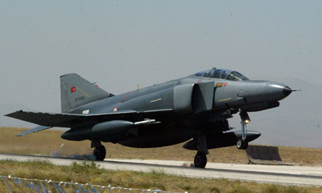 Turkish military jet