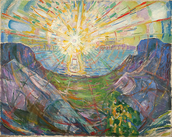 Edvard Munch: The Sun 1910-13, by Edvard Munch
