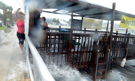 Tropical storm Debby drenches Florida and slows to a crawl in Gulf ...