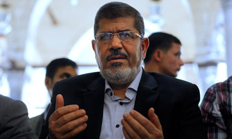Mohamed Morsi http://www.guardian.co.uk/commentisfree/2012/jun/25/muslim-brotherhood-egypt