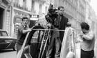 Francois Truffaut filming in 1964