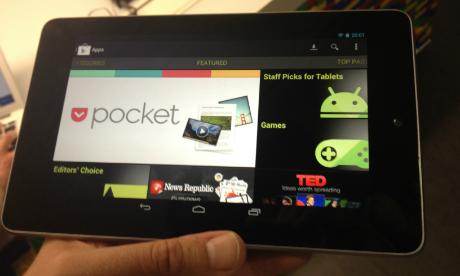 Nexus 7 Tablet Pertama Dari Google