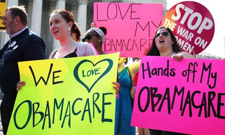 Supreme court upholds healthcare reforms in triumph for Obama | World ...