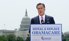 U.S. Republican Presidential candidate Mitt Romney on Supreme Court's upholding Obamacare