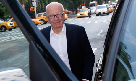 Rupert Murdoch in New York
