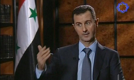 Syria's President Bashar al-Assad interviewed on Iranian TV
