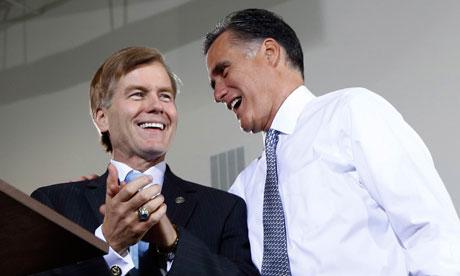 Mitt Romney and Bob McDonnell