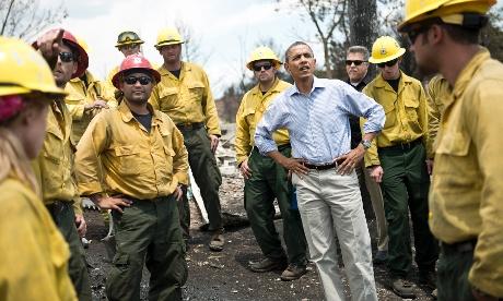 Obama Colorado fires