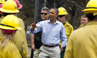 Barack Obama Colorado wildfire