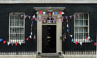 Jubilee: Decorated Number 10 Downing Street