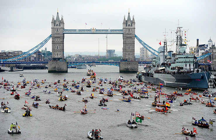 Jubilee Thames pageant: The Thames Diamond Jubilee Pageant