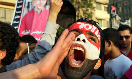 Protests in Tahrir continue after Mubarak verdict