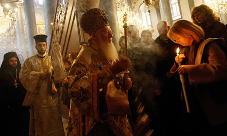 Greek Orthodox Easter ceremony in Istanbul