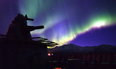 HMS Albion, Arctic Sea, 2004