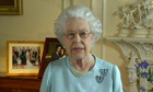 The Queen gives a televised address at the end of her diamond jubilee celebrations