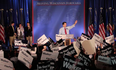 Wisconsin governor Scott Walker survives bitterly fought recall election