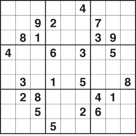 Sudoku Printable Medium 6 Per Page Sudoku 6 per Page