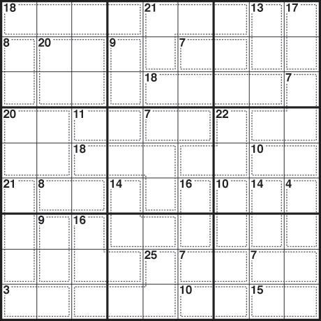 Sudoku 297 killer