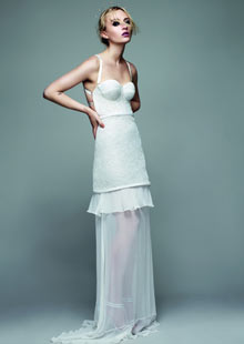Richard Nicoll bridal gown