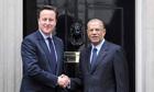 David Cameron Mauritian Navin Ramgoolam