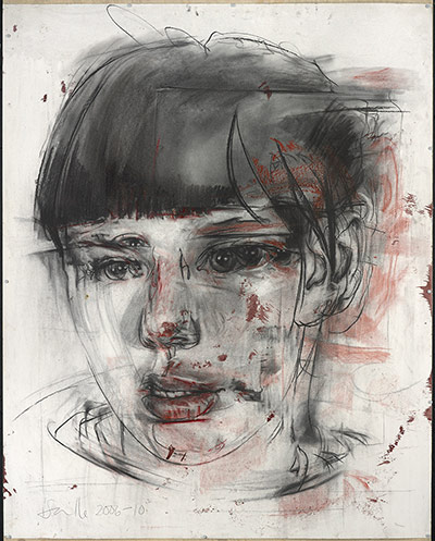 Saville: Stare (drawing), 2006-2010