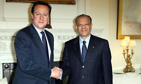 Mauritius PM visit to UK