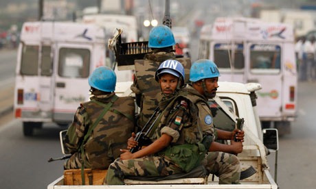 There are 8,000 peacekeepers in Ivory Coast