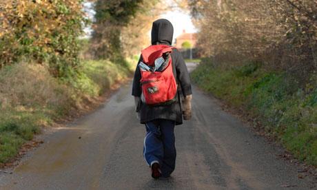 child walking away - photo #10