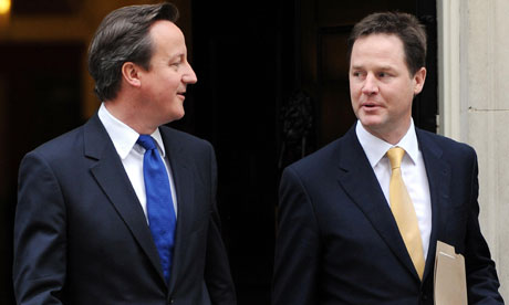 David Cameron and Nick Clegg realise they would have lost the Lords reform bill programme motion