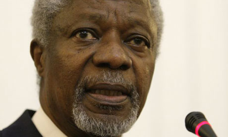 Kofi Annan will brief the security council
