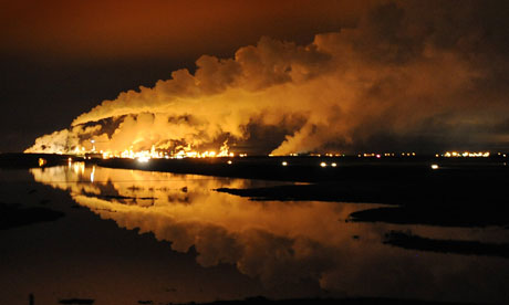 Alberta oil sands extraction