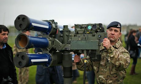 Army exercise ahead of Olympics