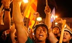 Miners demonstrate in Madrid 11 July
