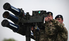 Missile position in Blackheath,
