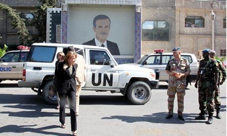 UN montitors observe Syria releases prisoners