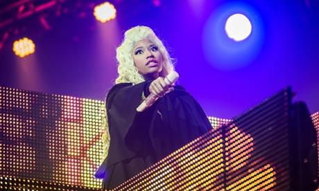 Nicki Minaj Performs At Le Zenith