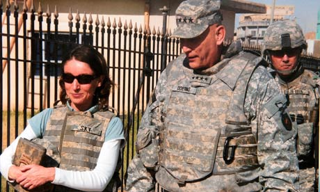 Emma Sky and General Odierno