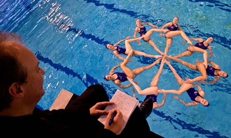 Film Critic Peter Bradshaw Reviews The Gb Olympics Synchronised Swimming Team Sport The Guardian