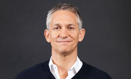 The much beloved match of the day host gary lineker got into a spot of