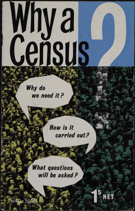 Census pamphlet, 1961