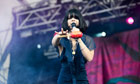 Natasha Khan of Bat For Lashes performs on day four of Latitude